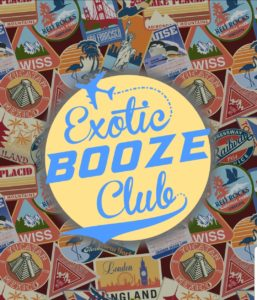 Exotic booze club logo