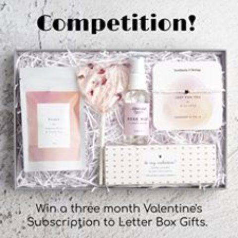 Blogger @stressedmum01 United Kingdom Giveaway: Win A Three Month Valentines Subscription To Letter Box – Closes 14th Feb 2020