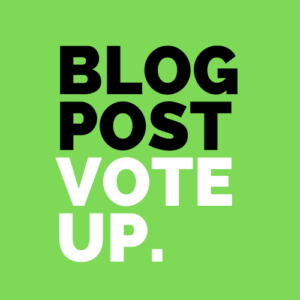 Blog Post Vote UP Logo