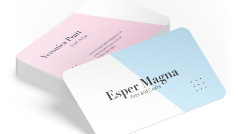 UK Blogging Assignment: Review our business cards, we'll design and print yours! Closes 12th October 2020