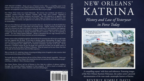 New Blogging Assignment (£) 'New Orleans' Katrina' Book Launch Promotion. Closes 7th December 2021